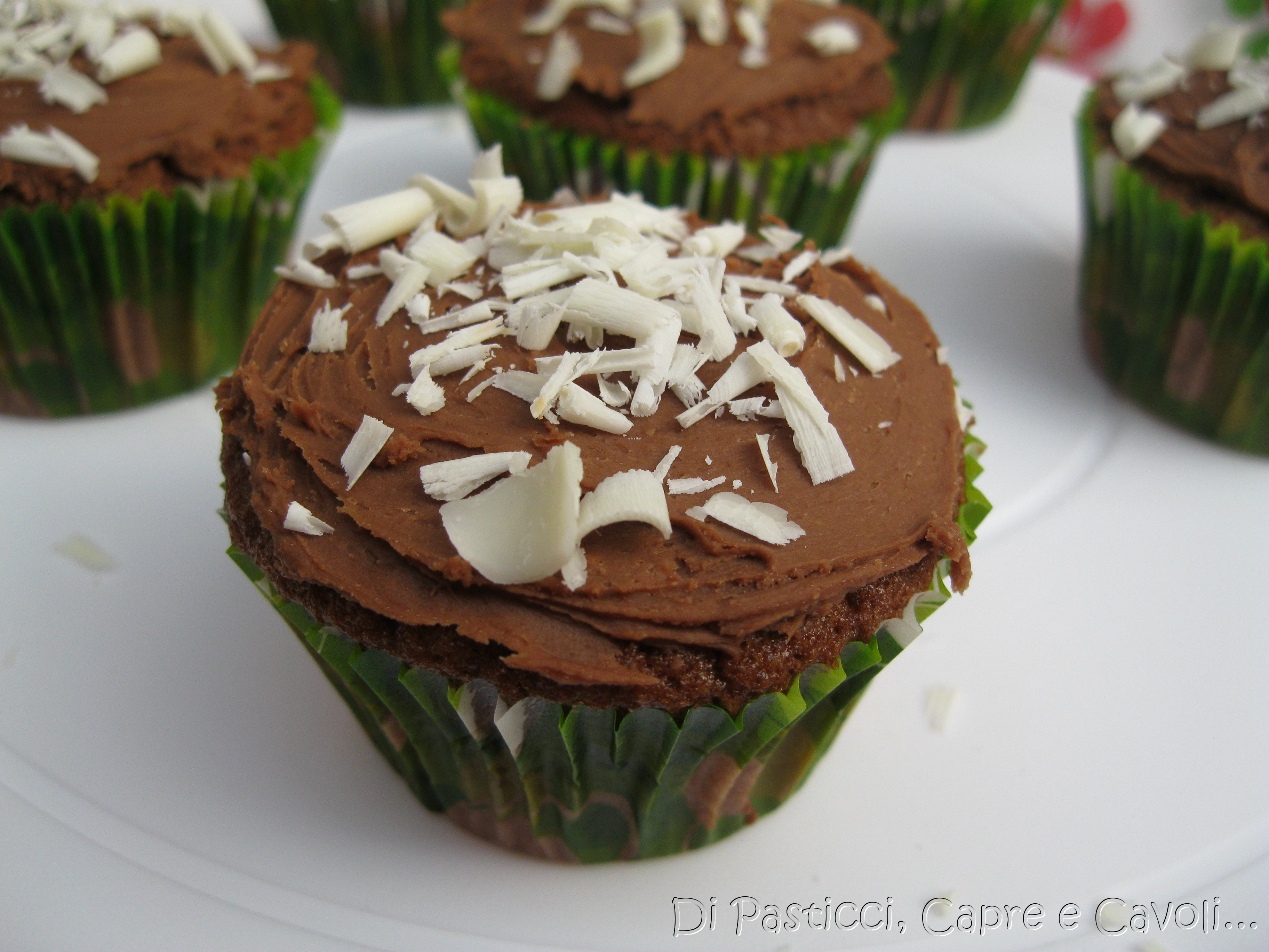 Cupcakes al triplo cioccolato