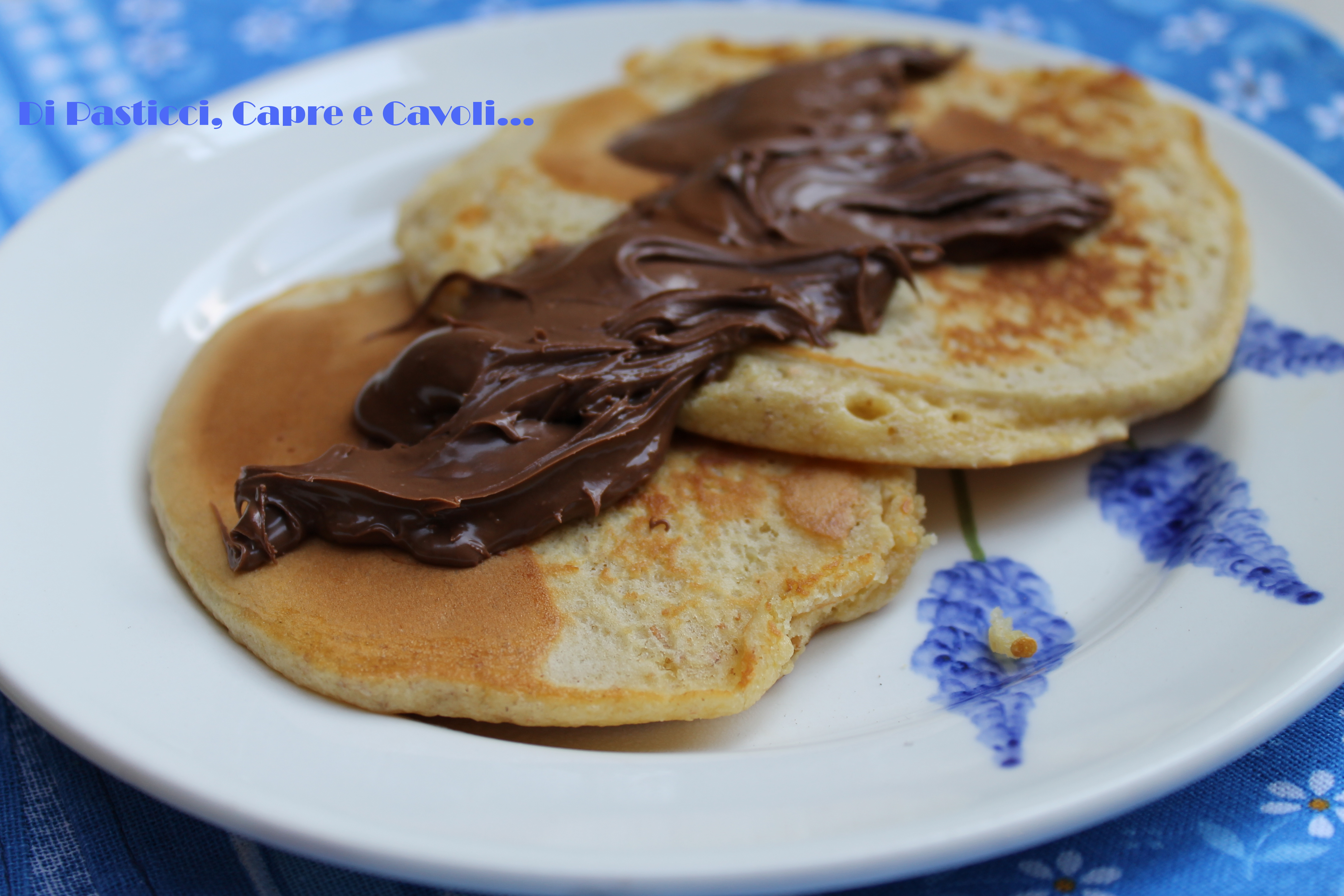Pancakes semintegrali al Burro d'Arachidi