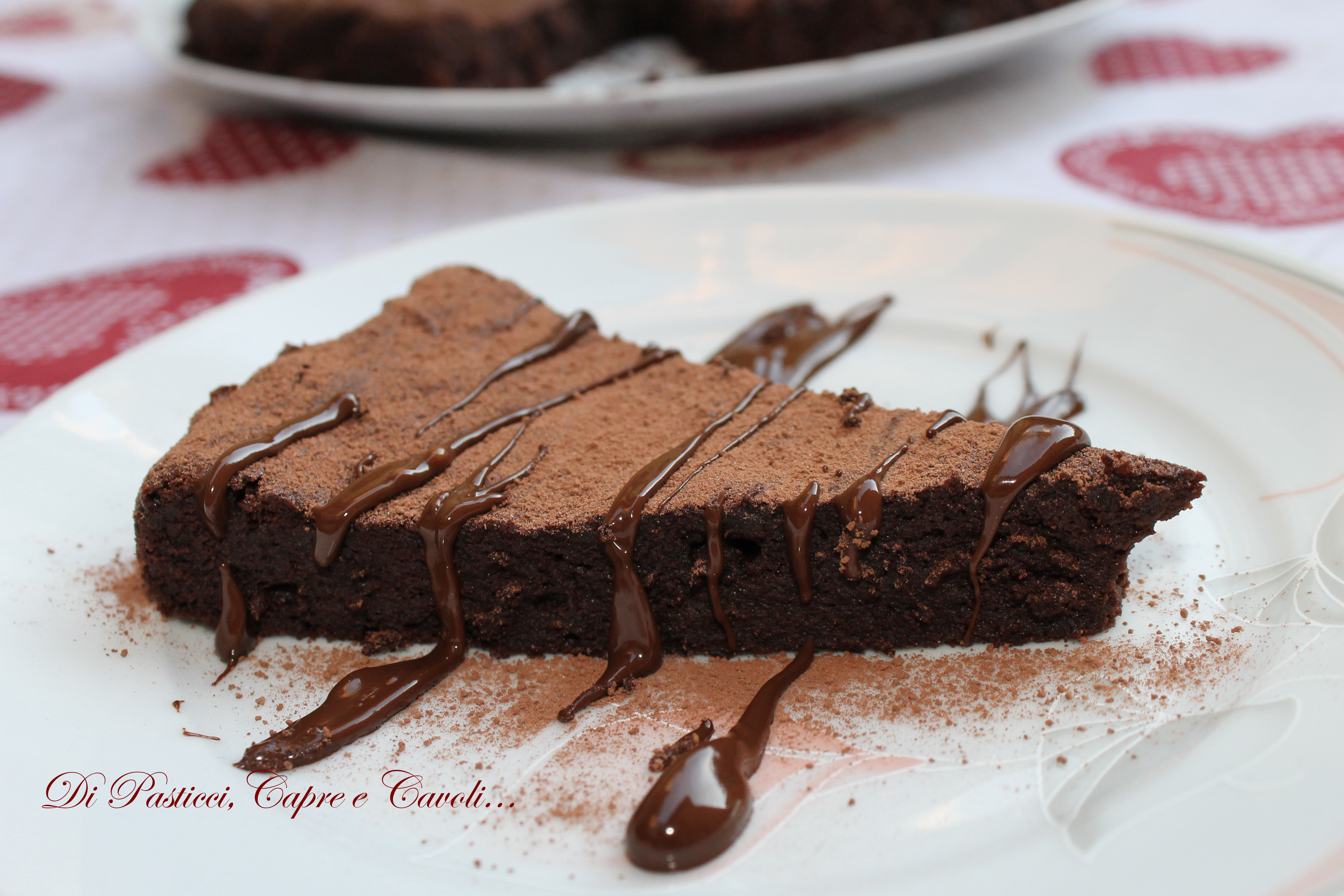 Torta al Cioccolato dell'Osteria Bergallo (secondo me)