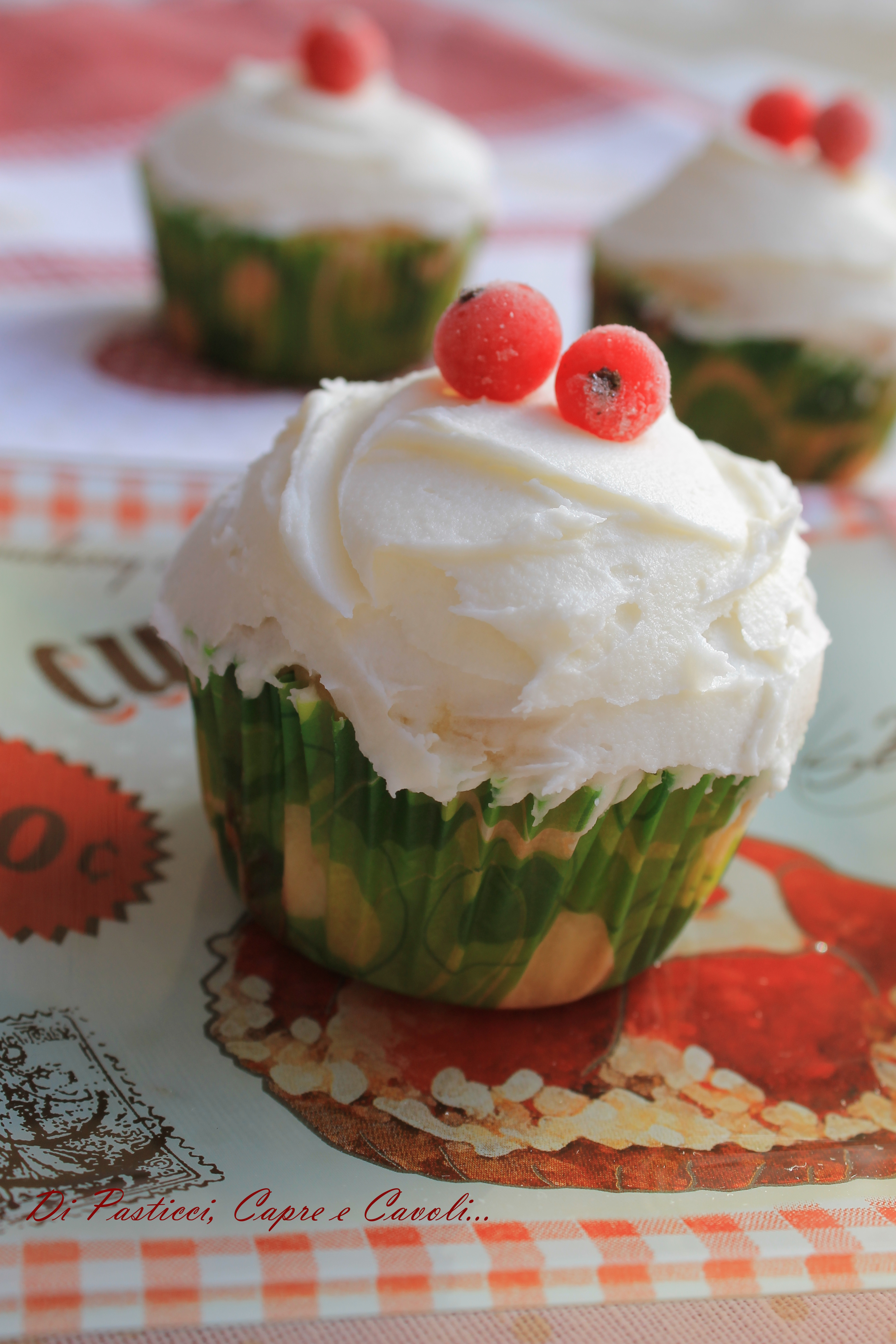 Cupcakes ai Ribes