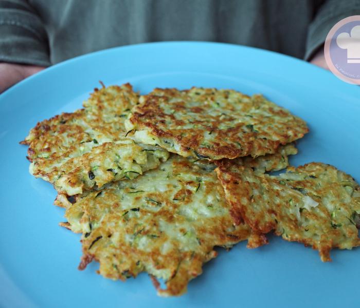 Placki Ziemniaczane con Zucchini